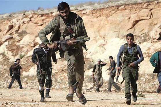 My va Tho Nhi Ky thoa thuan huan luyen quan noi day Syria chong IS hinh anh 1