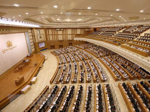 Myanmar se to chuc trung cau dan y ve sua doi Hien phap hinh anh 1