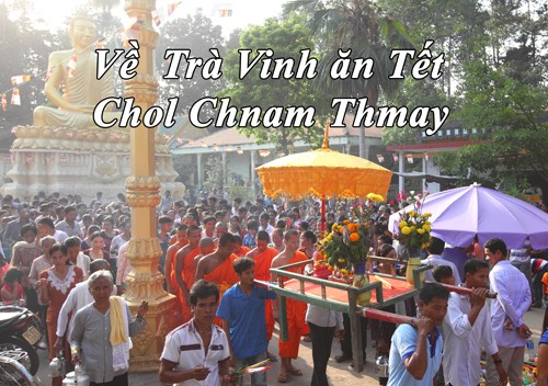 [Video] Ve Tra Vinh an Tet Chol Chnam Thmay cung dong bao Khmer hinh anh 1