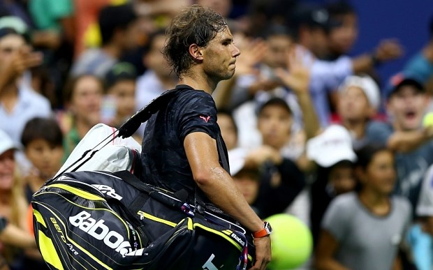 US Open 2015: Thua nguoc Fognini, Nadal dung chan o vong 3 hinh anh 1