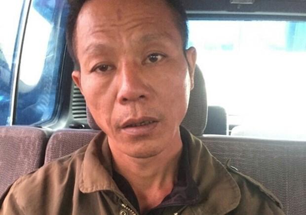 [Video] Bat khan cap doi tuong giet nguoi tai Thach That hinh anh 1