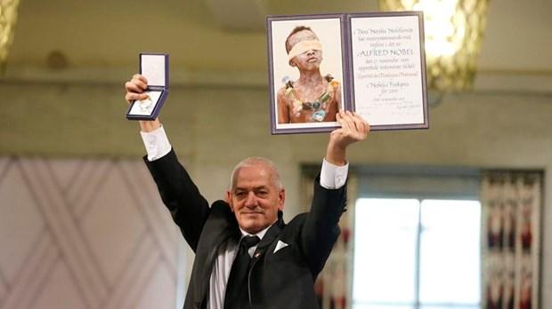 Nhom trung gian doi thoai Tunisia nhan giai Nobel Hoa binh 2015 hinh anh 1