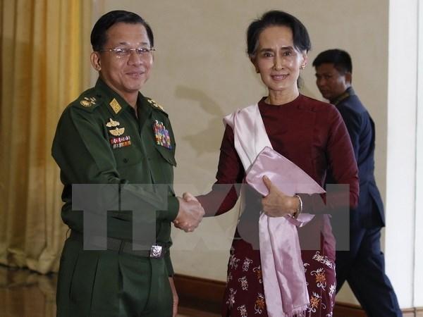 Myanmar: Du thao khung doi thoai chinh tri duoc phe chuan hinh anh 1