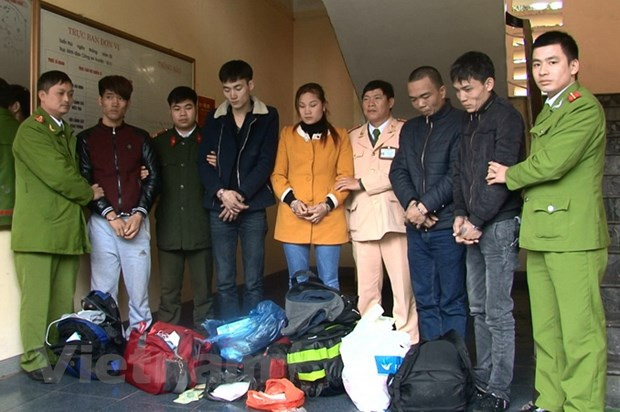 Quang Ninh: Bat nhom doi tuong van chuyen 1,2 kg ma tuy da hinh anh 1
