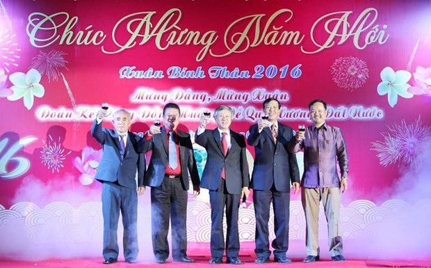 Dam am Tet Cong dong Xuan Binh Than cua nguoi Viet tai Lao hinh anh 1