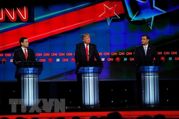 """Donald Trump thang gion gia trong ngay """"Sieu Thu ba lan 2"""
