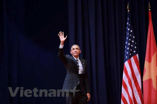 Toan van bai phat bieu cua ong Obama trong buoi noi chuyen tai Ha Noi hinh anh 1
