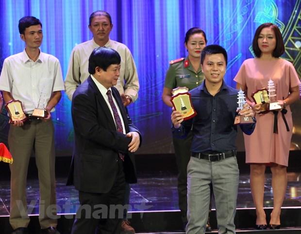 Giai Bao chi quoc gia: VietnamPlus