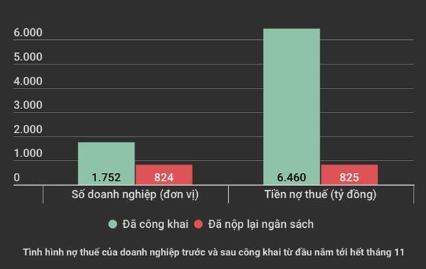 Ha Noi: Cong khai gan 6.500 ty dong no thue, moi thu lai 825 ty dong hinh anh 2
