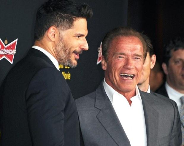 Schwarzenegger lam chi huy doi chong ma tuy trong ''Sabotage'' hinh anh 1