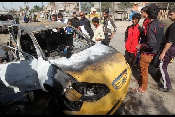 Baghdad: Danh bom xe vao nguoi Hoi giao Shi'ite lam 14 nguoi chet hinh anh 1