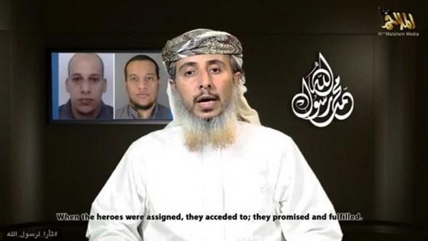 My xac thuc video al-Qaeda tuyen bo dung sau vu Charlie Hebdo hinh anh 1