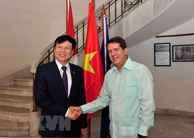 Viet Nam va Cuba trao doi kinh nghiem phat trien bao chi thoi ky moi hinh anh 1