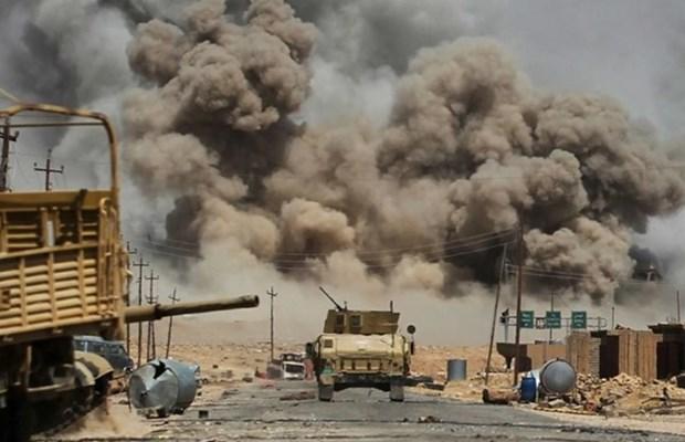 Lien quan chong IS khong kich pha huy kho dan tai Syria hinh anh 1