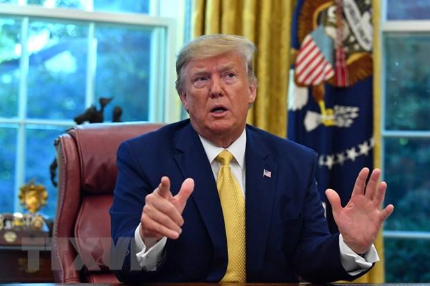 My huy ke hoach to chuc hoi nghi G7 tai khu nghi duong cua ong Trump hinh anh 1