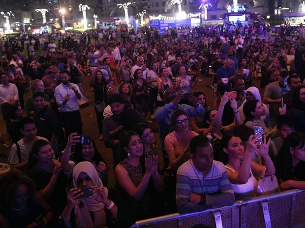 UAE to chuc le dem nguoc mot nam toi World Expo 2020 tai Dubai hinh anh 1