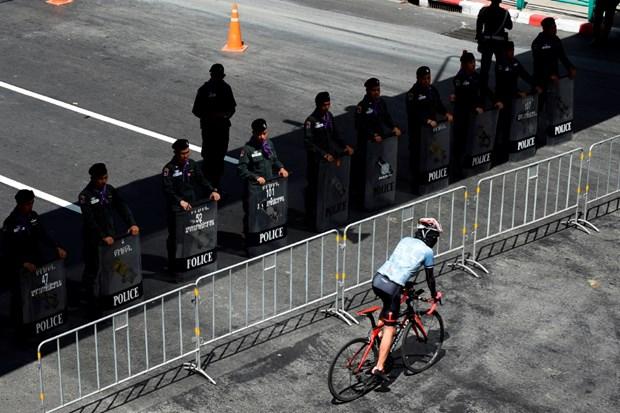 Thai Lan tang cuong an ninh truoc them Hoi nghi cap cao ASEAN 35 hinh anh 1