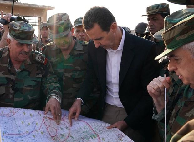 Tong thong Bashar al-Assad ung ho thoa thuan Nga-Tho ve Syria hinh anh 1