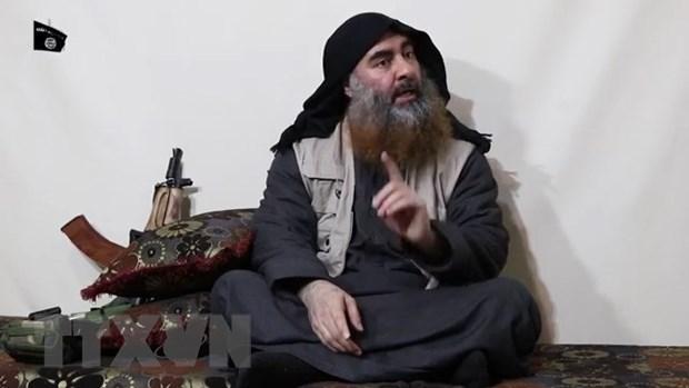 Iraq phat hinh anh ghi lai cuoc dot kich vao noi an nau cua Baghdadi hinh anh 1