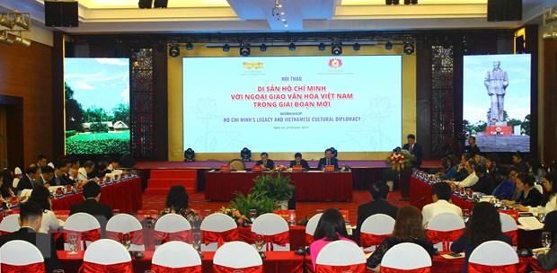 """Hoi thao quoc te """"Di san Ho Chi Minh voi ngoai giao van hoa Viet Nam"""" hinh anh 2"""