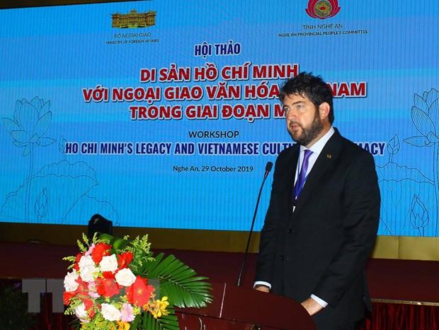 """Hoi thao quoc te """"Di san Ho Chi Minh voi ngoai giao van hoa Viet Nam"""" hinh anh 3"""