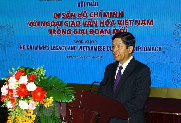 """Hoi thao quoc te """"Di san Ho Chi Minh voi ngoai giao van hoa Viet Nam"""" hinh anh 4"""