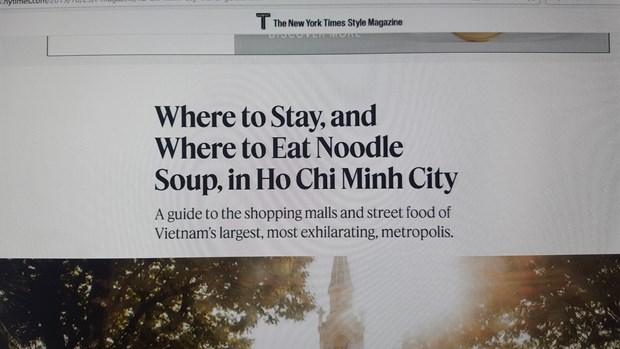 Net dac sac cua Thanh pho Ho Chi Minh len bao New York Times hinh anh 2
