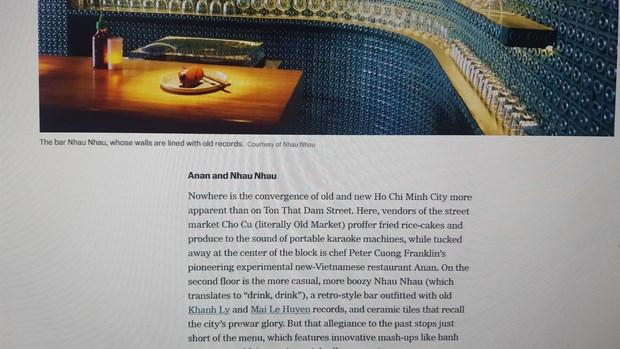 Net dac sac cua Thanh pho Ho Chi Minh len bao New York Times hinh anh 3