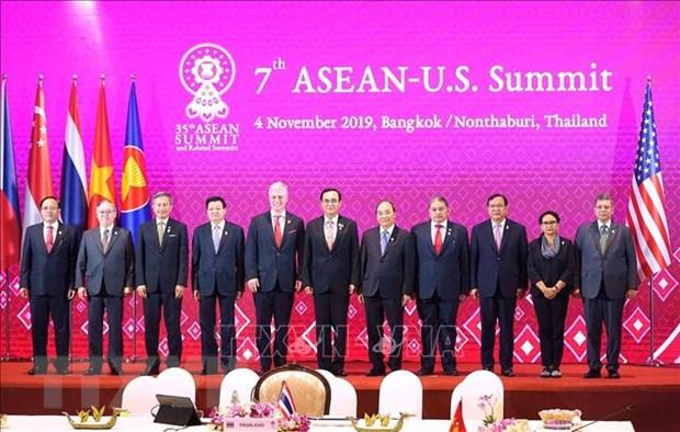 Hoi nghi Cap cao ASEAN 35: My khang dinh van gan ket voi chau A hinh anh 1