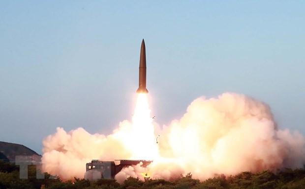 Han Quoc: Trieu Tien chua co kha nang phong ICBM tu be phong di dong hinh anh 1