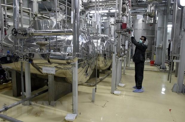 Iran bat dau bom khi urani vao cac may ly tam o Fordow hinh anh 1