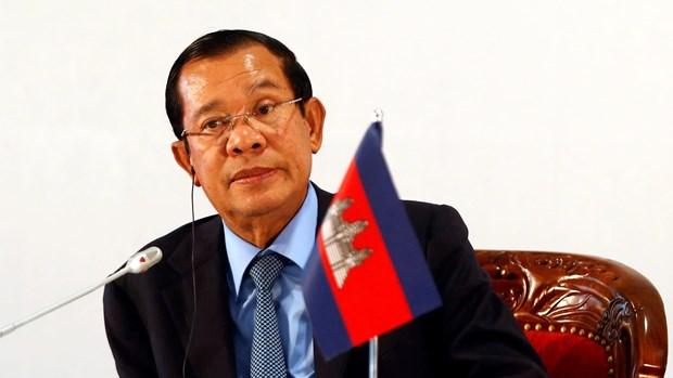 Thu tuong Hun Sen phat dong ke hoach 5 nam phat trien quoc gia hinh anh 1