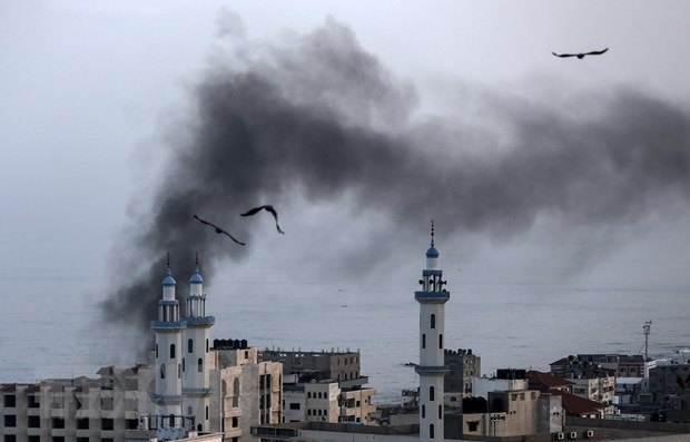 Nhom Hoi giao Jihad de xuat ngung ban o Dai Gaza hinh anh 1