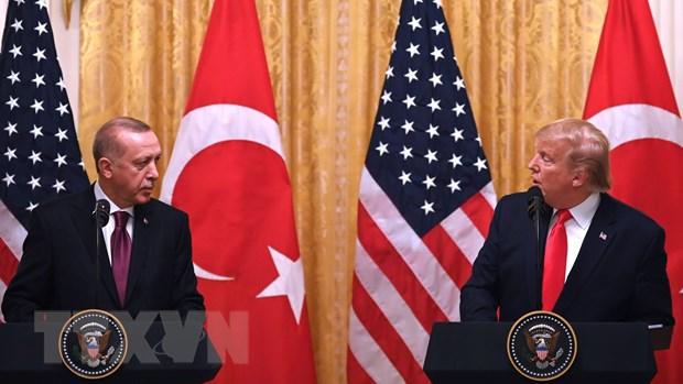 Tong thong Trump coi trong vai tro dong minh NATO cua Tho Nhi Ky hinh anh 1