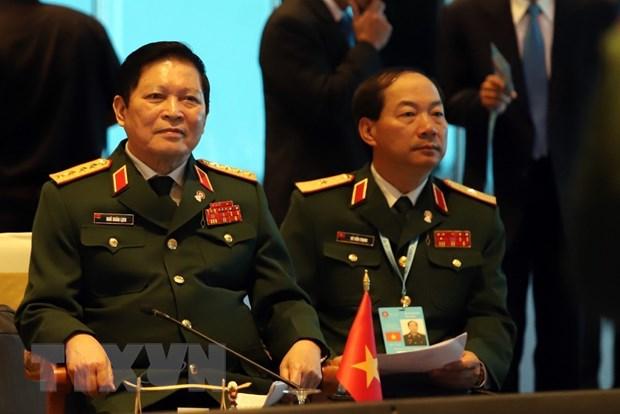Hoi nghi hep Bo truong Quoc phong ASEAN: Hop tac an ninh ben vung hinh anh 1