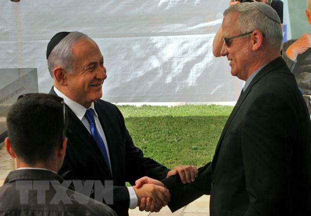 Israel: Lanh dao dang Xanh-Trang san sang thanh lap chinh phu thieu so hinh anh 1