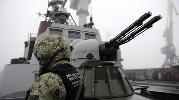 Phap hoan nghenh viec Nga trao tra 3 tau hai quan cho phia Ukraine hinh anh 1