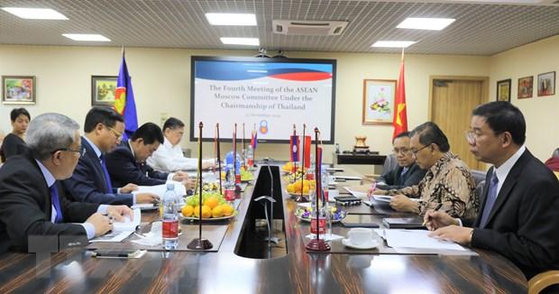 Viet Nam dam nhan cuong vi Chu tich Uy ban ASEAN-Moskva hinh anh 2