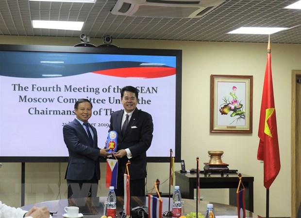 Viet Nam dam nhan cuong vi Chu tich Uy ban ASEAN-Moskva hinh anh 1