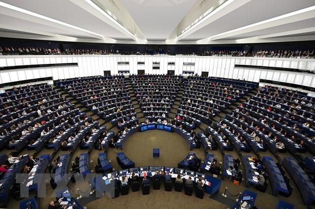 Toàn cảnh phiên họp Nghị viện châu Âu (EP). Nguồn: AFP/TTXVN