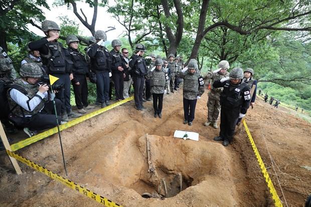 Han Quoc thong bao ke hoach xay khu tuong niem liet sy tai khu DMZ hinh anh 1