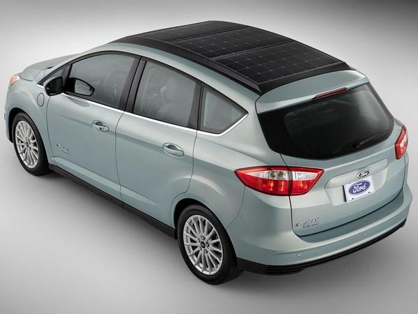 Ford trinh lang mau hybrid dung nang luong Mat Troi hinh anh 1