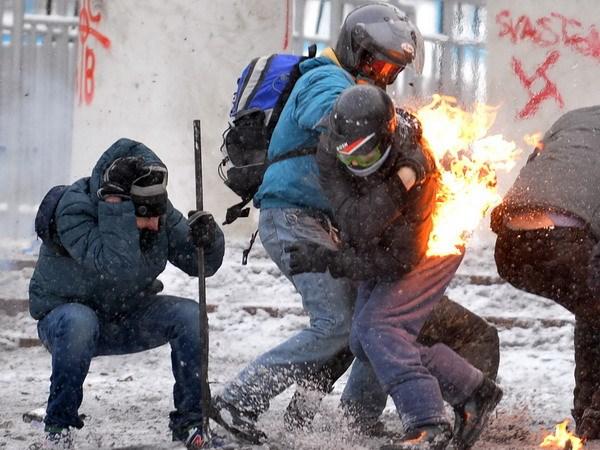 Ukraine: Nguoi bieu tinh co chiem giu Bo Nang luong hinh anh 1