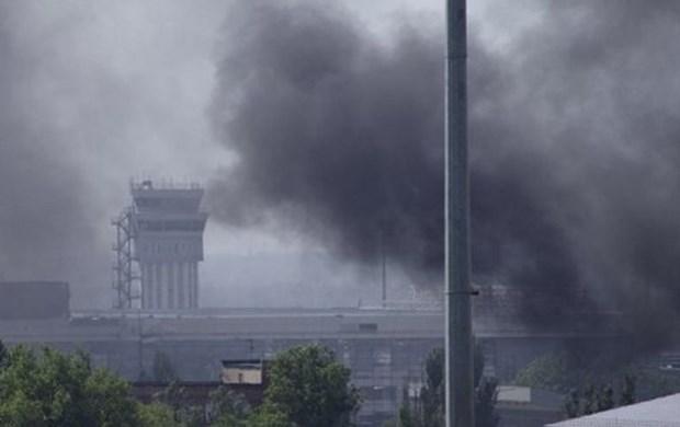 Ukraine: Giao tranh du doi tai san bay quoc te Donetsk hinh anh 1