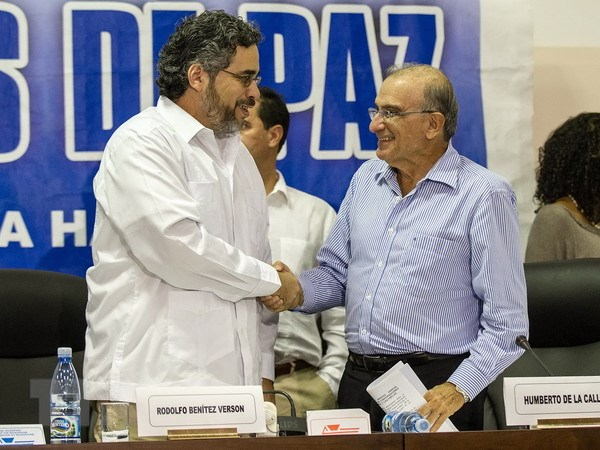 Chinh phu Colombia va FARC noi lai cuoc dam phan hinh anh 1