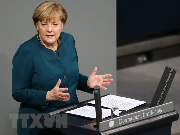 Thu tuong Merkel la chinh tri gia duoc ua thich nhat o Duc hinh anh 1