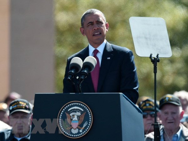 Uy tin doi ngoai cua Tong thong Obama thap chua tung co hinh anh 1