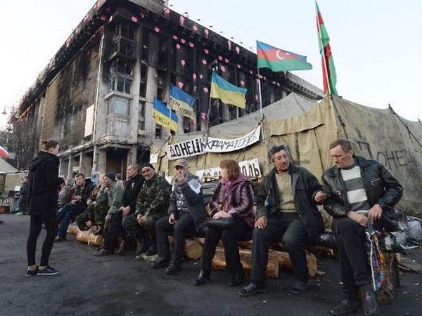 Ukraine: Sung no sau xung dot tai quang truong Doc Lap hinh anh 1