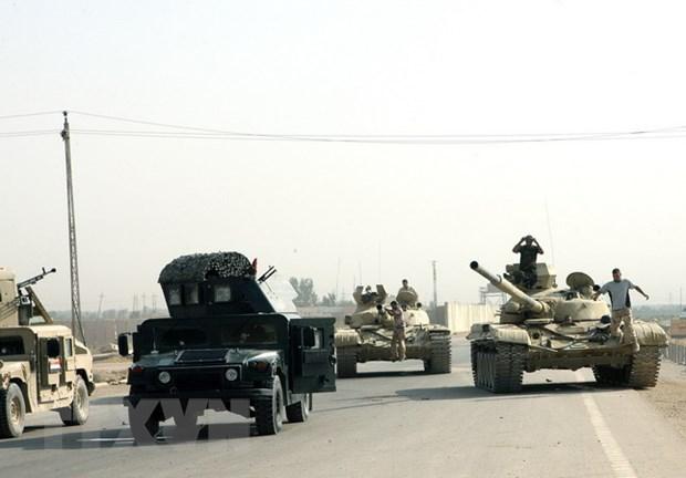 Chinh quyen Iraq ap dat lenh gioi nghiem o thanh pho Ramadi hinh anh 1
