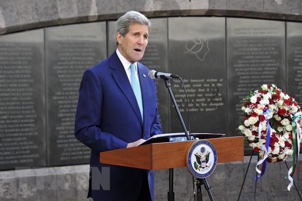 Ngoai truong My John Kerry bat ngo toi tham Somalia hinh anh 1
